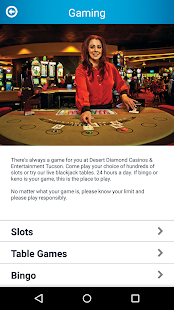 Desert Diamond Casinos - screenshot