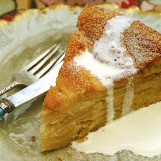 Drunken Apple Cake