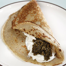 Buckwheat Crepe Blinis