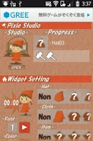 Screenshot of PixieStudio -Clock Ver.-