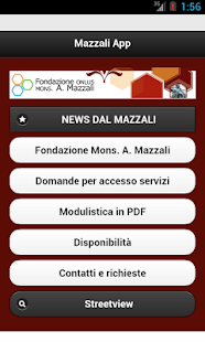 Mazzali App - screenshot