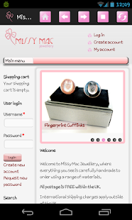 MissyMac Jewellery - screenshot