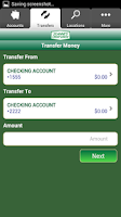 Screenshot of St. Anne's CU Mobile Banking
