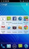 Screenshot of My Most Used Apps Widget
