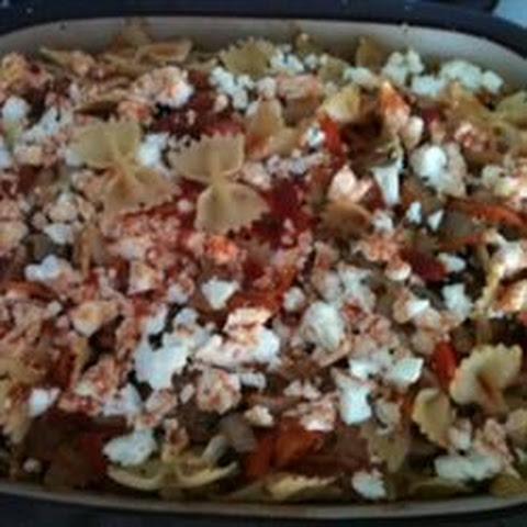 Bow Tie Pasta Feta Cheese Tomatoes Recipes | Yummly