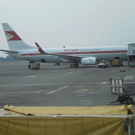 Preparing for the next flight by Aditya Kristianto - Transportation Airplanes (  )