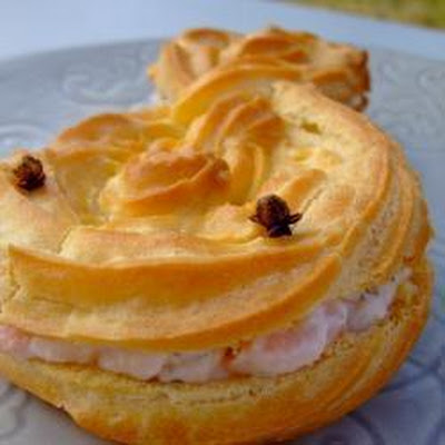 Salmon Mousse Choux Pastries