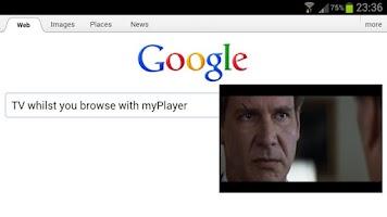 Screenshot of myPlayer Pro