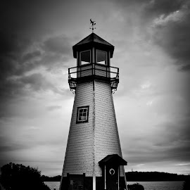 Lighthouse by Chuck Hildebrandt - Buildings & Architecture Other Exteriors ( detroit river, lighthouse,  )