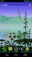 Screenshot of Luminescent Jungle HD