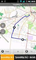 Screenshot of Транспорт Львова