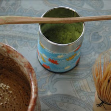 Preparing Matcha (Japanese Powdered Green Tea)
