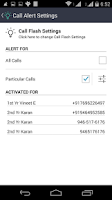 Screenshot of Flash Alerts On Calls/SMS/Chat