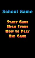 Screenshot of SchoolGame