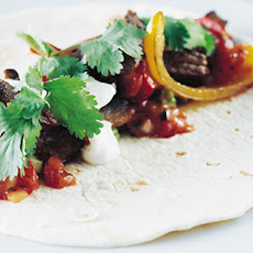 Roll-your-own Chilli Steak Fajitas