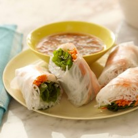 Shrimp and Mint Summer Rolls Recipe | Yummly