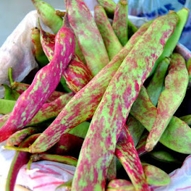 These are pinto bean hulls. How cool huh?!! by Sherri Murphy - Food & Drink Fruits & Vegetables