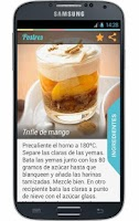 Screenshot of Postres