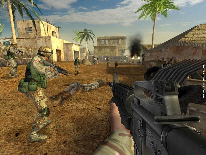 Terrorist Takedown: Conflict in Mogadishu