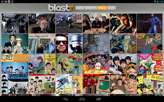 Screenshot of Blastr