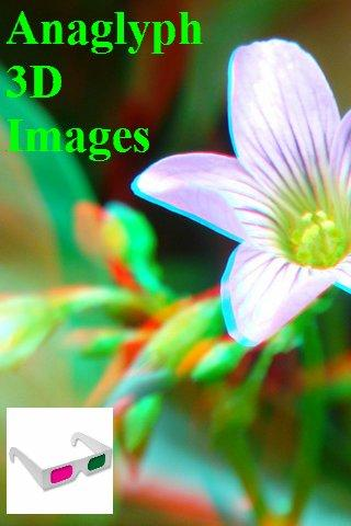 3D Stereo Images Anaglyph