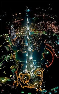 Dubai Night Live Wallpaper HQ - screenshot