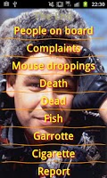 Screenshot of Red Dwarf S1 soundboard