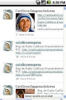 Screenshot of Red Católicos Emprendedores