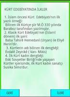 Screenshot of Kürt Edebiyatında İlkler