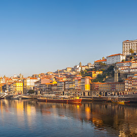Ribeira do Porto by Mário Marques - City,  Street & Park  Historic Districts ( rio, ponte, douro, ribeira, porto )
