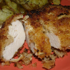 Chicken With Crispy Panko Coating