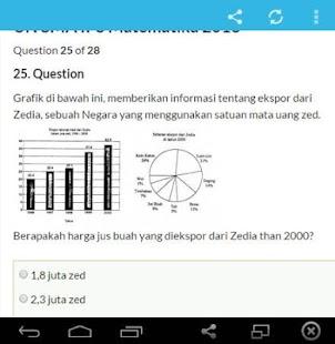 Soal Ujian Sekolah- screenshot thumbnail
