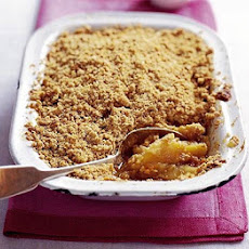 Apple Flapjack Crumble