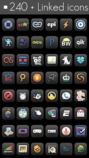 【免費個人化App】ADW eXo Matte-APP點子