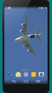 Airplane 3D Live Wallpaper- screenshot thumbnail