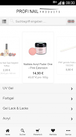 Screenshot of Profi Nail Products GmbH