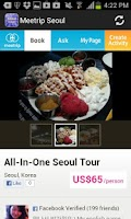 Screenshot of Seoul Travel Guide, Local Tour