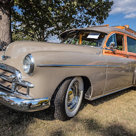 Classic Station Wagon by Ron Meyers - Transportation Automobiles