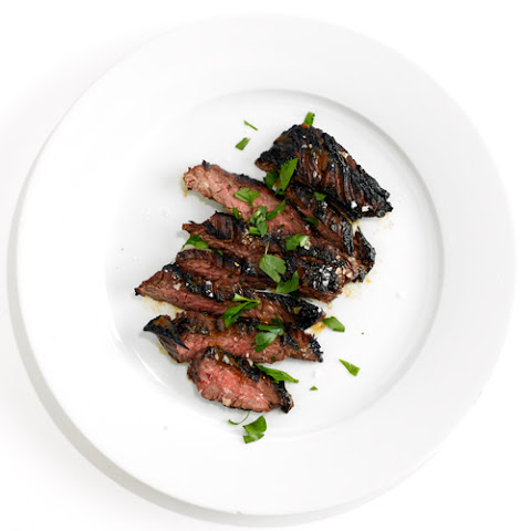 Coffee-Marinated Skirt Steak