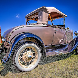 Vintage Ride by Ron Meyers - Transportation Automobiles
