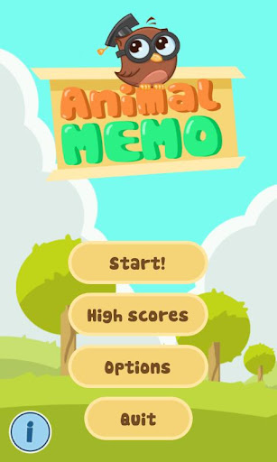 Memory for kids animals HD