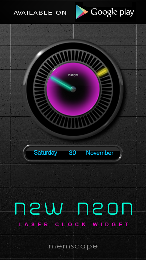 NEW NEON Next Launcher Theme Screenshot 4