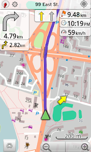 Kyrgyzstan GPS Navigation - screenshot