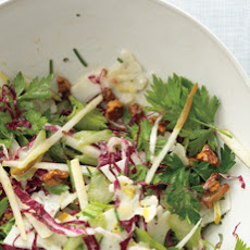 Shaved Cauliflower and Radicchio Salad