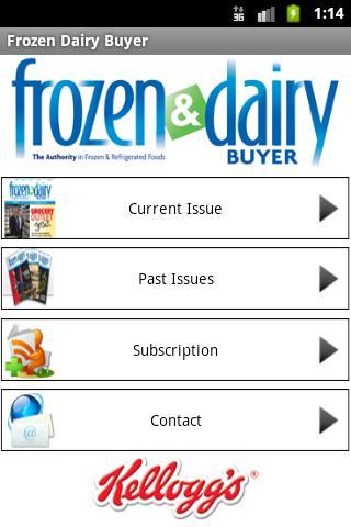 Frozen Dairy Buyer