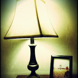 Lamp & Love  by David Brown - Artistic Objects Still Life