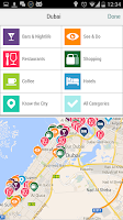Screenshot of Dubai City Guide