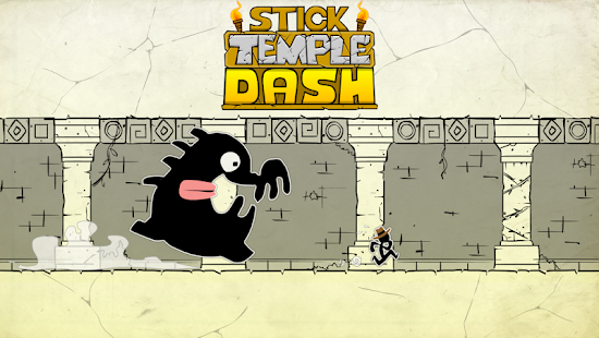 Stick Temple Dash - Run Game - screenshot