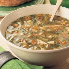 Turkey, Chestnut And Barley Broth