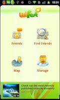Screenshot of wiFest multimedia messaging